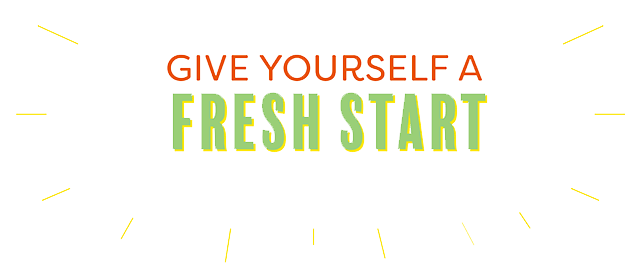 Give Yourself A Fresh Start